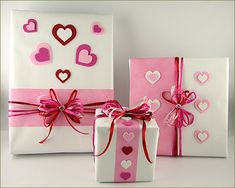 Pretty Valentine Wrapping
