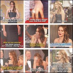Jennifer Lawrence. So funny. love her...Shes basically my best friend