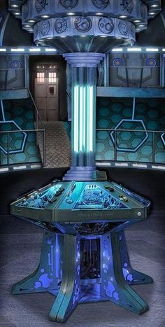 New TARDIS interior... So I know one of the best things about the show is change, but I liked how the last one was bright and colorful. This one will have to grow on me.
