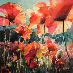 flowers by Kalina Toneva, via Behance