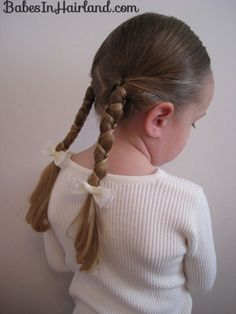 Lots of cute braids for little girls.