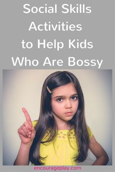 Social Skills Group Ideas to Help Kids Who Are Bossy