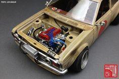 Custom Plastic Model Cars   ART CORNER: The custom 1:24 models of Luis Aguilar, Part 02