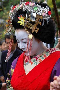 Geisha . Japan