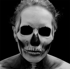 psychosandra - Halloween makeup