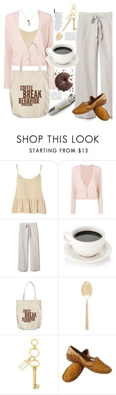"""""""Coffee break"""" by natalyapril1976 on Polyvore featuring Topshop, RED Valentino, Gap, Wallace, Henri Bendel and DOSE of ROSE"""
