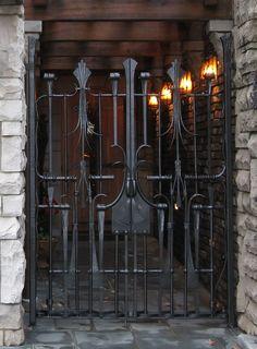 iron gates and fences cairo - Google Search