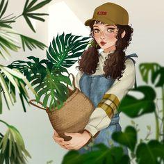 mjj @Instagram ~ Character Design Illustration