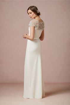 Harlow Gown in New at BHLDN