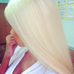 Almost makes me miss my long barbie blonde hair. Inspiration.