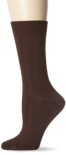Goodhew Womens San Fran Cable Socks Espresso MediumLarge *** Read more at the affiliate link Amazon.com on image.