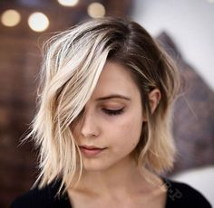 rooty blonde bob by Buddy Porter