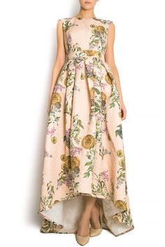 Couture, Nice Dresses, Amazing Dresses, Dream Dress, High Low, My Style, Floral, Clothes, Fashion