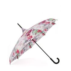 Rainy days don't have to lack a punch of optimism with this fun orchid print…