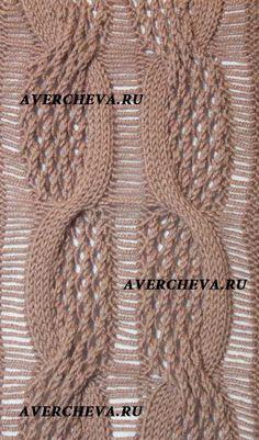 图案948 - 轻描淡写 - 轻描淡写 Lace Knitting Patterns, Knitting Charts, Knitting Stitches, Stitch Patterns, Avercheva Ru, Creative Knitting, Knitwear Fashion, Brunello Cucinelli, Knitting Projects
