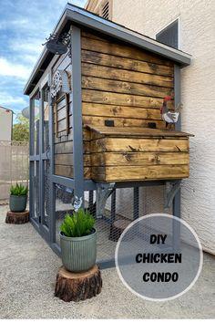 Chicken Coop Designs, Cute Chicken Coops, Diy Chicken Coop Plans, Chicken Coup, Best Chicken Coop, Backyard Chicken Coops, Building A Chicken Coop, Backyard Farming, Chickens Backyard