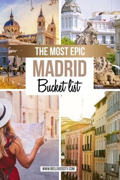 Things to do in Madrid, Spain: Ultimate guide - BeeLoved City Bali Travel, Spain Travel, Best Places To Travel, Places To See, Places In Spain, Madrid Travel, Dubai Skyscraper, City Photography, Travel Around Europe