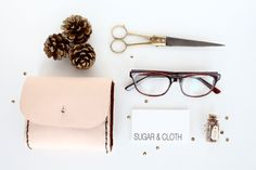 DIY: Leather Pouch