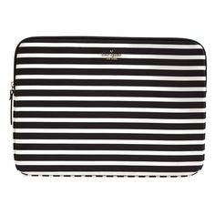 kate spade new york 'fairmont' laptop sleeve ($60) via Polyvore