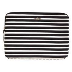 kate spade new york 'fairmont' laptop sleeve ($60) via Polyvore