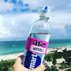 South Beach, bringin' the heat...stay hydrated & use SIP ID™ bands to keep track of your #water #energydrink #beer #cocktails Write your name and wrap the ID band around any #drink! Helps prevent the spread of germs! Shop our website www.h2oid.com/shop OR Amazon.com http://amzn.to/2ahBkO0 OR Amazon.ca http://amzn.to/2aDy1j #beach #miami #florida #outdoors #idyourdrink #h2oid #sipid #sip #oceanview #ocean #waterbottle #label #beachbabe #boating #yachting #chill #life #summer #healthy #sun…