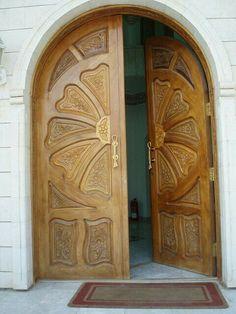 Beautiful Carved Wood Doors