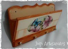 Jupi Artes: Porta Cartas e Chaves