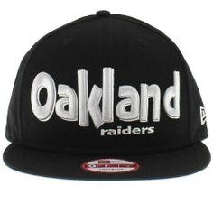 New Era Dough Word Snapback Oakland Raiders Adjustable Hat by New Era. $24.88. snapback. dough word. raiders. new era. An official New Era snapback hat.  A brand new style.