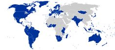 Map of Electoral Democracies (2015)