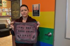 """""""Ottawa centre shows support for victims of sexual assault with old shirts,"""" by Ashley Moffat, Metro"""