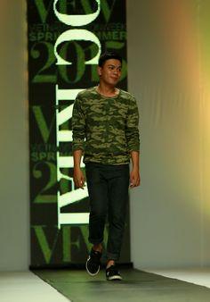 Vietnam Fashion Week SS15 - Ready to wear. Designer: QUOC KHAI. Photo: Nguyen Thanh Dat