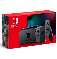 Superb Nintendo Switch Grey with Improved Battery Life Now at Smyths Toys UK. Shop for Nintendo Switch Consoles At Great Prices. Click & Collect Within 2 Hours! Free Home Delivery for Account Holders Nintendo Switch Package, Buy Nintendo Switch, Nintendo Switch System, The Legend Of Zelda, Legend Of Zelda Breath, Marvel Ultimate Alliance 3, Wii, Siege Gaming, Manette Xbox One