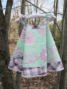 """La Sewista!: Carly's Circle Dress, Simp 2466.  I love the fabrics in this dress.  It's a Daisy Kingdom pattern and all the reviews on Patternreview.com say there are """"fit"""" issues and not for beginners."""
