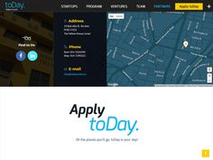 toDay.ventures New Website :) 'cause toMorrow is too late ... by INKOD HYPERA Ltd.
