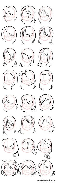 draw hair More