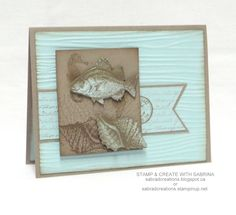 Stamp & Create With Sabrina: By The Tide - Tip Top Taupe & Soft Sky