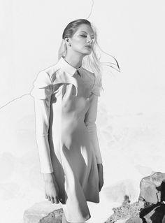 "Aleksandra Borowska in ""Axel"" by Tomasz Haczyk for Design Scene, May 2013"