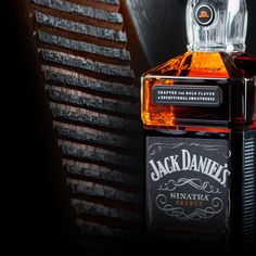 Jack Daniel's Sinatra Select is bottled at a higher-than-normal 45% and incorporates whiskey aged in specially-made 'Sinatra Barrels' that increase the spirit's oak exposure during maturation.