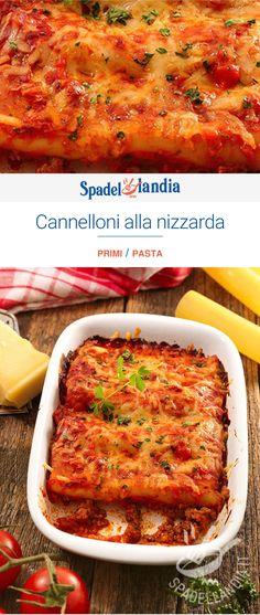 Cannelloni alla nizzarda Savarin, Carne, Ethnic Recipes, Kitchen, Food, Lasagna, Cucina, Cooking, Essen