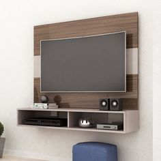 Tv Unit Bedroom, Tv Wall Panel, Wall Tv Stand, Lcd Panel Design, Tv Unit Furniture Design, Tv Wall Cabinets, Contemporary Family Rooms, Modern Tv Wall Units, Living Room Tv Unit Designs