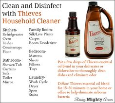 1000 Images About Essential Oils Cleaning On Pinterest