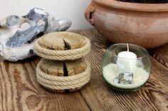 Objets de décoration, Chandeliers, planteur, vase est une création orginale de karol-art sur DaWanda