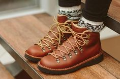 Portland bootmaker Danner sets their sights on urban exploration with the same over-engineered design that's defined their wares for over 80 years. Camping Attire, Winter Hiking Boots, Danner Boots, Mountain Pass, Vintage Hipster, Baskets, Duck Boots, Boots Online, Dress With Boots