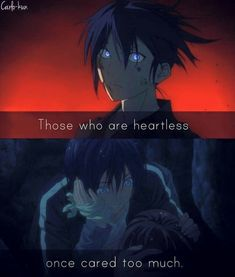 Anime:Noragami Be sure to follo. Noragami Bishamon, Noragami Anime, Anime Manga, Anime Art, Diy Quotes, Mood Quotes, Sad Anime Quotes, Manga Quotes, Anime Quotes About Love