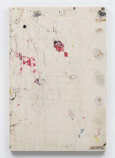 Erik Lindman. 'Work (Rolling Stones Lips)', 2012, Found Surface (Melamine, Paint), Epoxy-based filler, Shellack, Wood, 59.7 x 40.6 x 3.8 cm / 23.5 x 16 x 1.5 in