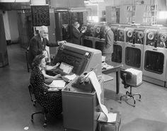 Tabulating the 1954 Census with a UNIVAC Computer, October 17, 1955.