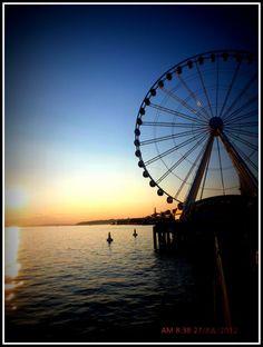 Seattle sunset - Seatlle, Washington