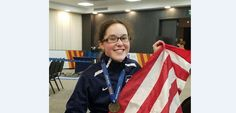 Lauryn DeLuca of Parma is headed to Rio this summer! DeLuca, 16, is a competitor in wheelchair fencing and secured her her spot at the 2016 Paralympic Games by taking home the gold me…