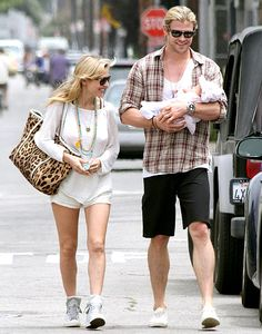 Chris Hemsworth and Elsa Patakys Daughter India Turns 1: Her Life in Pictures: July 22, 2012