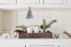 Minty House Blog : Naturalnie, biało, przy użyciu gwiazd ;)